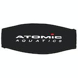 Diving Mask Parts Atomic Aquatics Neoprene Mask Strap Cover - Black