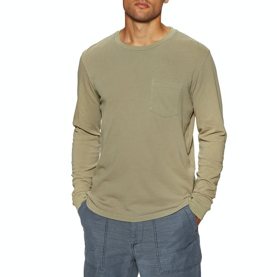 Outerknown Groovy Pocket Long Sleeve T-Shirt