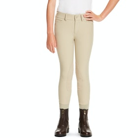 Riding Breeches Enfant Ariat Heritage Elite Knee Patch - Tan