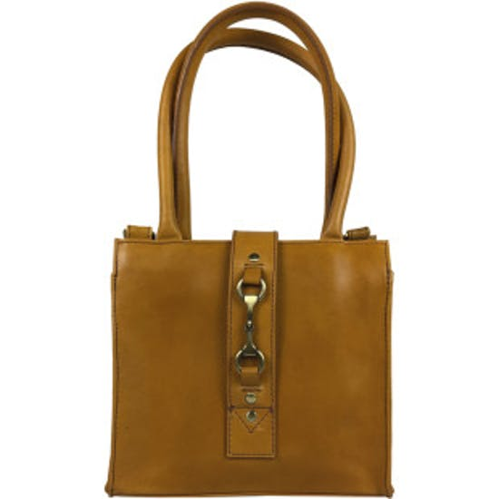 Grays Mini Alice Tan Natural Leather Indkøbstaske