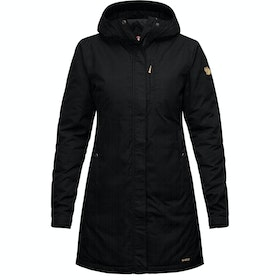 Fjallraven Kiruna Padded Parka Ladies Jacket - Black