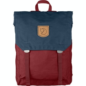 Fjallraven Foldsack No 1 Backpack - Ox Red-navy