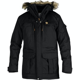 Fjallraven Yupik Parka Jacket - Black