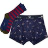 Joules Put A Sock In It Pack Mens Boxer Shorts