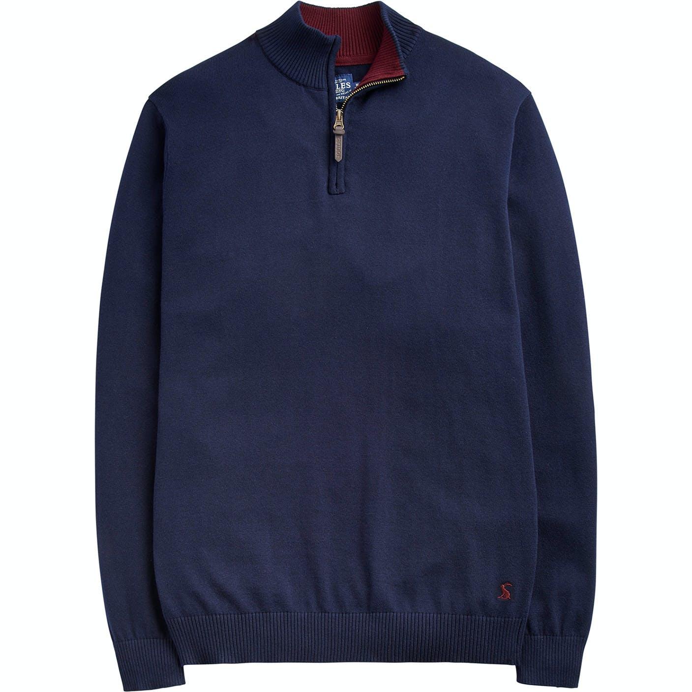 Joules Hillside Funnel Zipper Neck Sweater From Rideaway