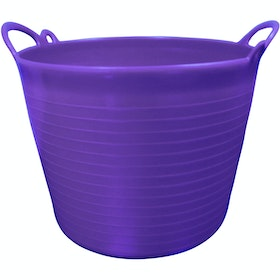 Prostable Flexi Feed Tub Bucket - Purple