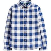 Joules Sark Linen Checked Рубашка