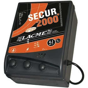 Agrifence Secur 2400 Bipulse Mains Energiser (H4692) Elektrozaun - Black