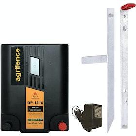 Agrifence DP-1210 Dual 12v Energiser (H4580) Electric Fencing - Black