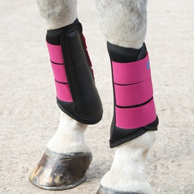 Shires ARMA Air Motion Brushing Boot - Raspberry