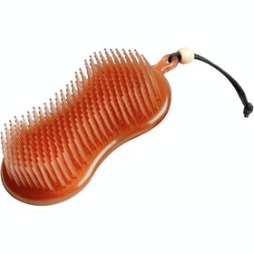 LeMieux Hippo Brush Curry Comb - Orange