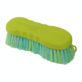 Shires Contour Ezi Groom Dandy Brush - Lime