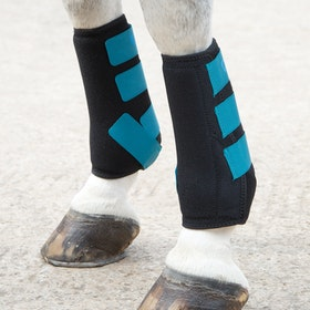 Shires ARMA Breathable Sports Exercise Boots - Teal