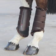 Shires ARMA Fur Trimmed Brushing Boot