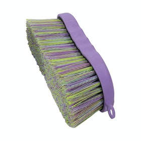 Shires Contour Ezi Groom Dandy Brush - Lilac