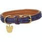 Shires Digby and Fox Padded Leather Hundehalsband