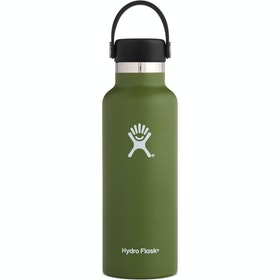 Hydro Flask 18 oz Standard Mouth With Flex Cap Water Bottle - Olive
