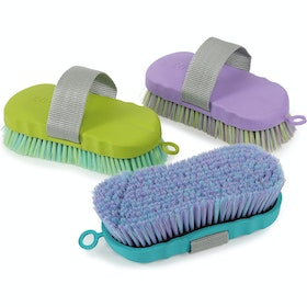 Shires Contour Ezi Groom Body Brush - Lilac