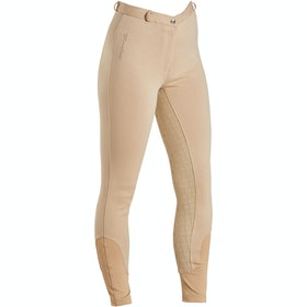 Firefoot Farsley Sticky Bum Ladies Riding Breeches - Beige