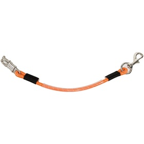 Shires Elasticated Bungee Line Stall Guard - Orange