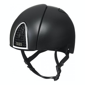 KEP Cromo Jockey Riding Hat - Black