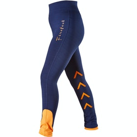 Firefoot Ripon Stretch Childrens Riding Breeches - Navy Orange