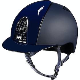 KEP Cromo Polish Reithelm - Blue