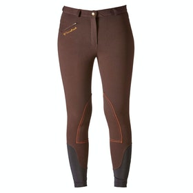 Firefoot Rawdon Comfort Ladies Riding Breeches - Chocolate