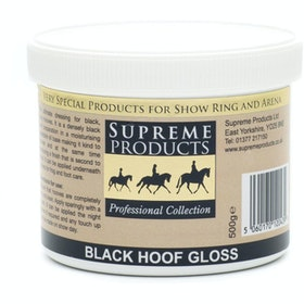 Supreme Products Hoof Gloss Hoof Oil - Black