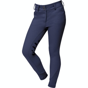 Riding Breeches Enfant Dublin Prime Gel Knee Patch - Navy