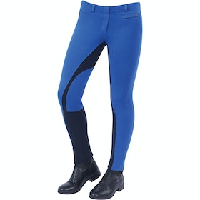 Jodhpurs Enfant Dublin Supa Fit Euro Seat Pull On - Blue Navy