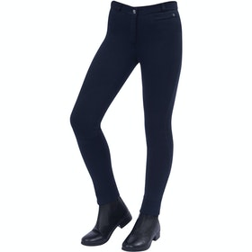 Jodhpurs Enfant Dublin Supa Fit Zip Up Knee Patch - Navy
