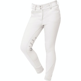 Riding Breeches Enfant Dublin Prime Gel Knee Patch - White