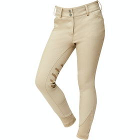 Riding Breeches Enfant Dublin Prime Gel Knee Patch - Beige
