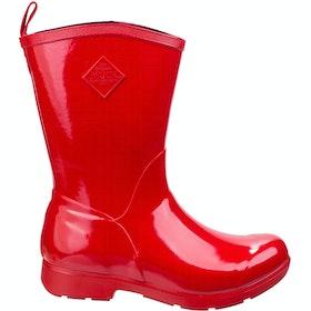 Muck Boots Bergen Mid Ladies Wellingtons - Red