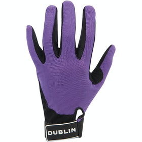 Dublin Meshback Gloves - Purple