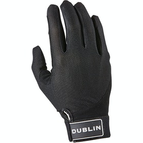 Dublin Meshback Gloves - Black