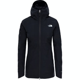 North Face Hikesteller Parka Shell Dame Vandtætte Jakker - TNF Black