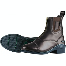 Dublin Evolution Zip Front Ladies Paddock Boots - Brown