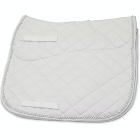 Rambo Dressage Saddlepads - White
