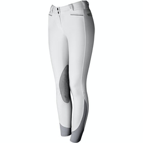 Riding Breeches Damski Tredstep Solo Extreme Knee Patch - White
