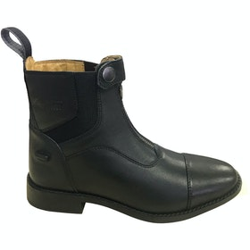 Mark Todd Front Zip Competition Paddock Boots - Black