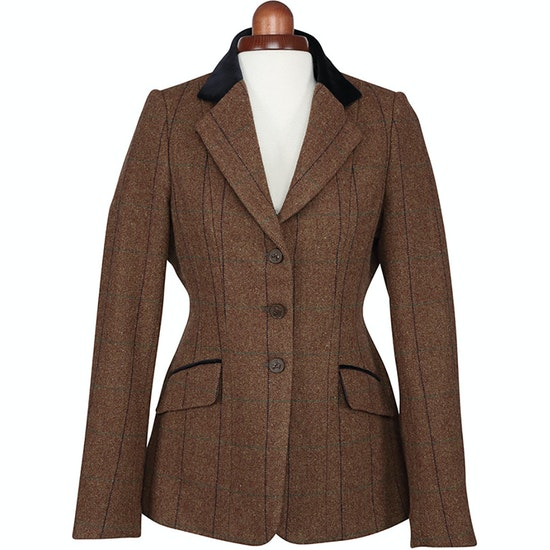 Shires Aubrion Saratoga Kids Competition Tweed Jacket