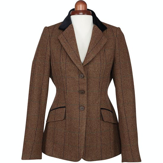 Shires Aubrion Childs Saratoga Kids Competition Tweed Jacket