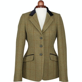 Shires Aubrion Saratoga Childrens Competition Tweed Jacket - Copper Check
