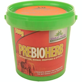 Global Herbs Prebioherb 500g Digestion Supplement - Clear