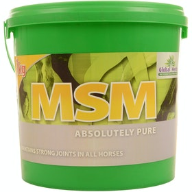 Global Herbs MSM Pure 1kg Joint Supplement - Clear