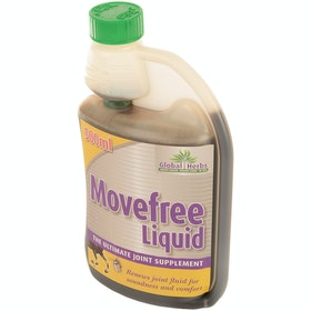 Global Herbs Movefree Liquid 500ml Joint Supplement - Brown