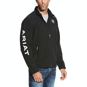 Ariat New Team Mens Softshell Jacket - Black
