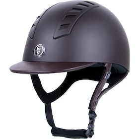 Gatehouse Chelsea Pro Air Vent Matt Riding Hat - Brown